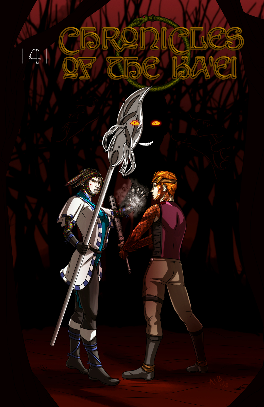 Chapter Four, Cover
